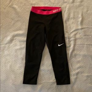 Nike Dri-Fit Training Pants / Leggings (Small)